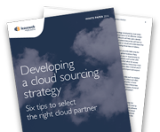 Six tips to select the right cloud partner