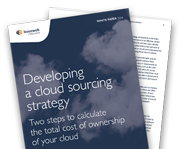 Calculate the total cost of ownership of your cloud
