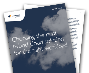 Hybrid Cloud for the right workload