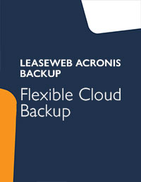 Leaseweb Acronis backup productsheet